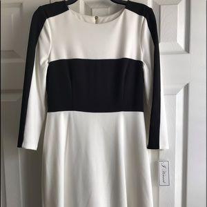 Jessica Howard Black/White Dress Size 8